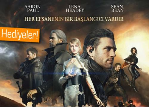Yeni Final Fantasy'nin Türkçe posterini ve sinema biletini kazanmak ister misiniz?