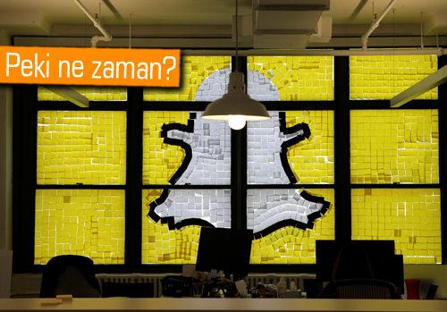Snapchat halka açılıyor!