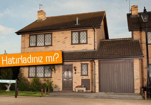 Harry Potter'ın filmde kaldığı evi satıldı