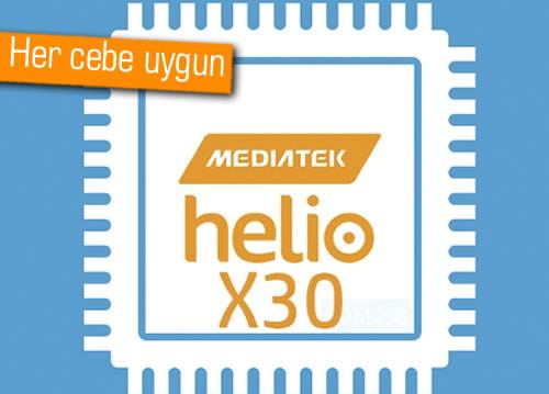 MediaTek'in Helio X30 ve X35'inden yeni bilgiler