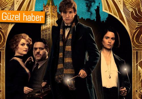 Harry Potter evreninde geçen Fantastic Beasts serisi 5 film olacak!