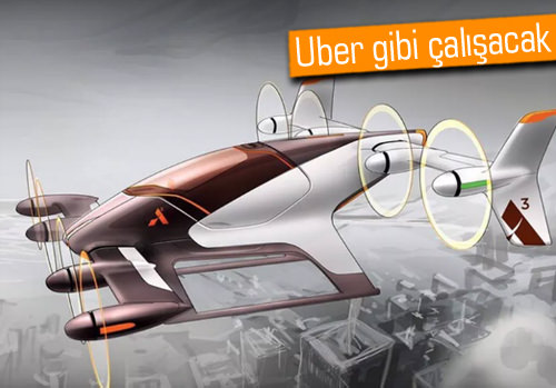 Airbus'ın uçan-taksi projesi Vahana detaylandı, işte çıkış tarihi