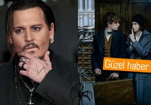 Johnny Depp, Harry Potter evrenine katılıyor