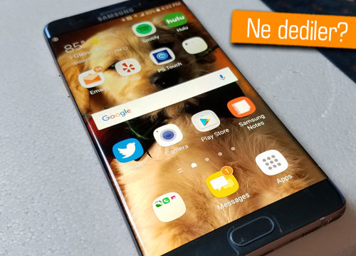Samsung Galaxy S8 karmaşası devam ediyor!