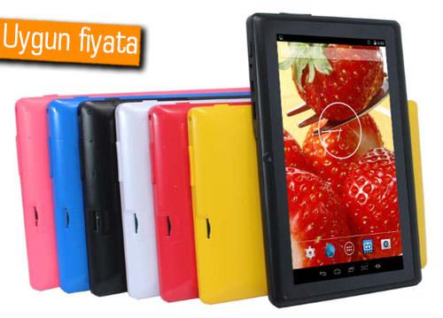 120 liraya 7 inç Android tablet