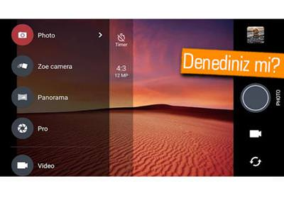 HTC CAMERA'YA GÜNCELLEME GELDİ