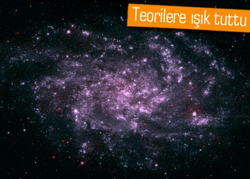 Astronomlar şaşırtıcı yeni bir galaksi keşfetti