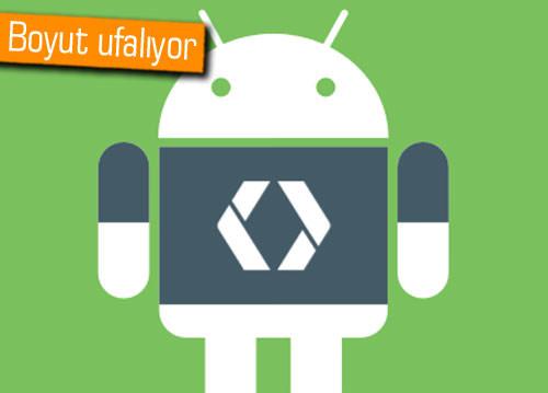 Google, Android platformunda dosya boyutunu düşürerek veri tasarrufu sağlıyor!