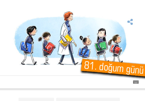 Google Türkan Saylan'ı unutmadı! Türkan Saylan kimdir?