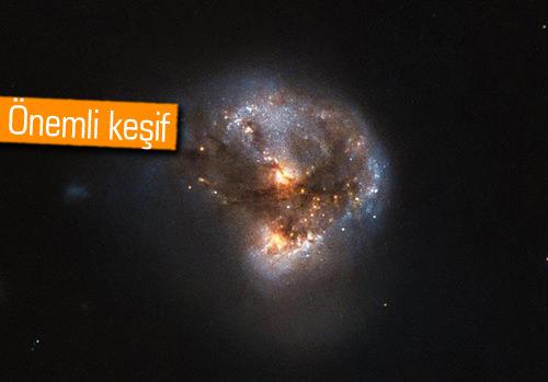 Işık yerine radyasyon yayan 'mega-meyzer' galaksi keşfedildi