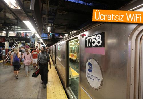 New York'ta yeraltı metro istasyonlarında WiFi dönemi