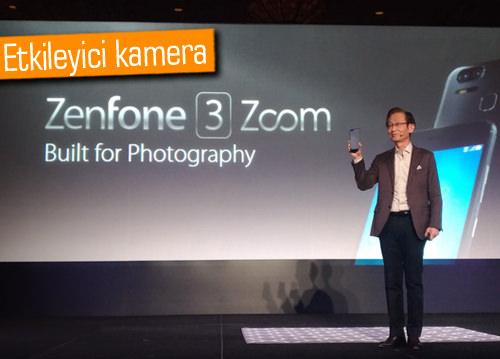 CES 2017: Asus ZenFone 3 Zoom duyuruldu, 5000mAh pil, Portre Modu ve fazlası