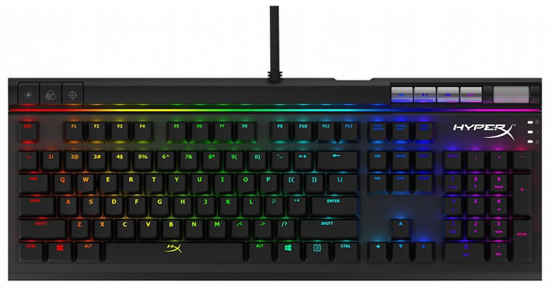CES 2017: HyperX yeni RGB oyuncu klavyesini ve Pulsefire oyuncu faresini duyurdu