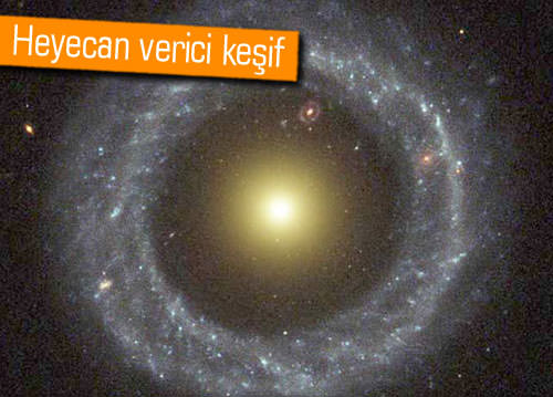 Doktora öğrencisi Burçin Mutlu Pakdil iki halkalı galaksi keşfetti!