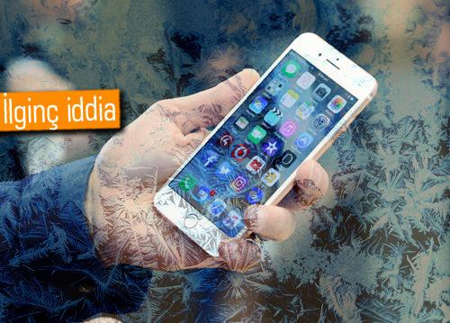 iPhone'lar soğukta kapanıyor iddiası