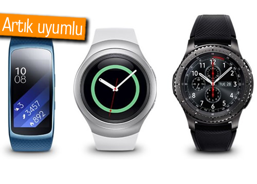 Samsung akıllı saatler için iOS desteği!