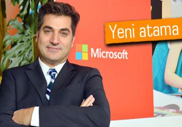 Levent Erkan, Microsoft Türkiye'de Kamudan Sorumlu Genel Müdür Yardımcısı oldu