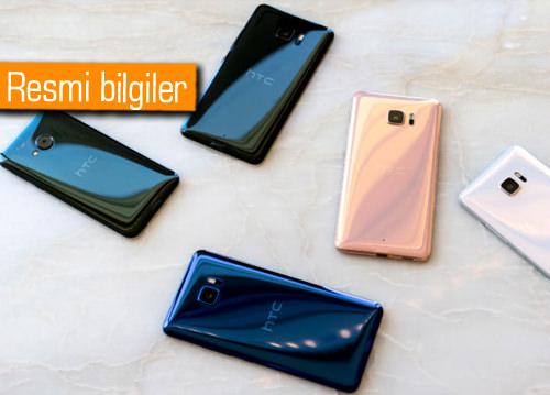 HTC U Ultra ve U Play'in fiyat ve çıkış tarihleri
