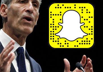 Sony yöneticisi Michael Lynton, Snapchat'e geçti!