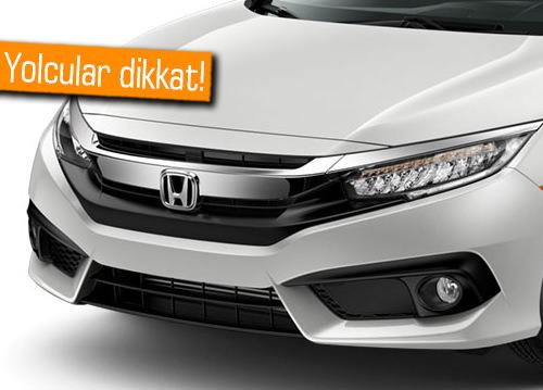 Dikkat. Honda, yaklaşık 1 milyon otomobilini geri çağırıyor!