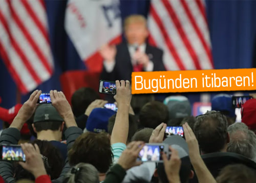 Donald Trump resmen başkan oldu, ilk iş Android'ten vazgeçti!