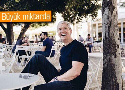 Tim Cook, 3.6 milyon $ değerinde Apple hissesi sattı!