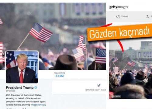 Trump, Twitter'da yanlışlıkla Obama'nın fotoğrafını kullandı