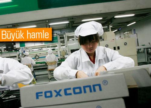 Apple ve Foxconn'dan ABD'ye 7 milyar $'lık tesis!