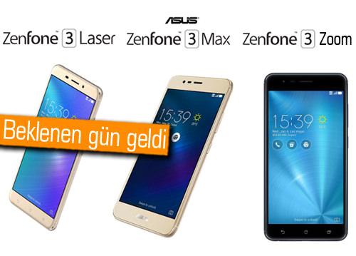 ASUS Zenfone 3 ailesi Türkiye'de, işte cihazların resmi fiyatları!