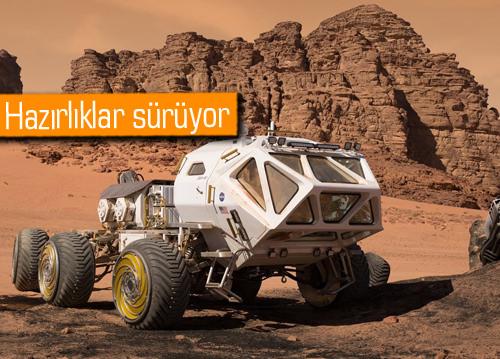 İTÜ öğrencileri Mars için keşif aracı tasarlıyor!