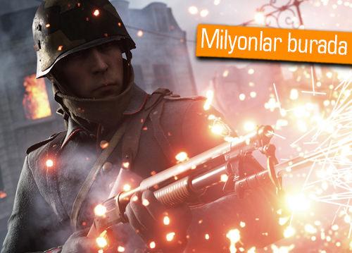 Battlefield 1 ve Titanfall 2 kaç milyon satıldı?