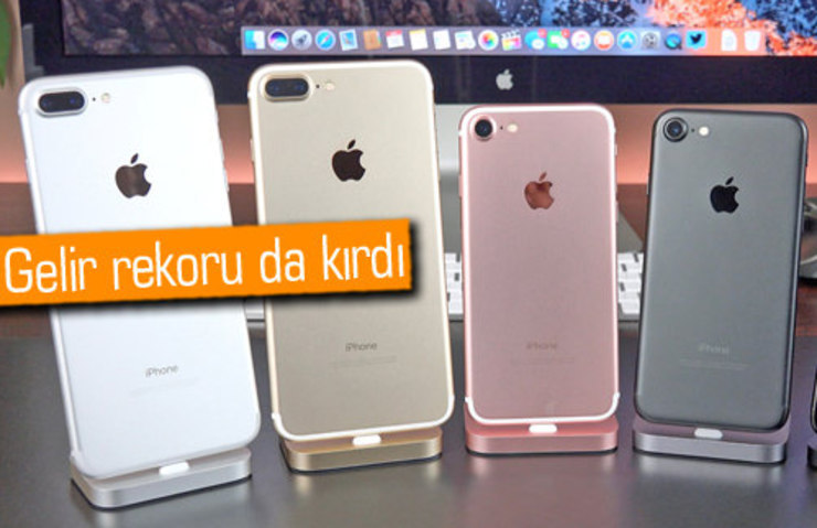 APPLE, İPHONE SATIŞLARINDA REKOR KIRDI!