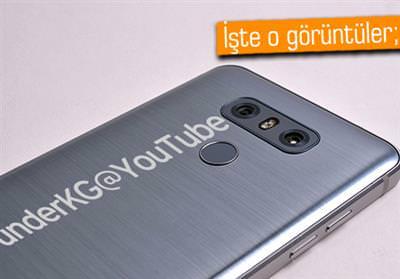 LG G6 BİRÇOK AÇIDAN GÖRÜNTÜLENDİ!