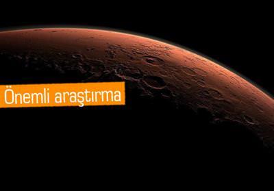 MARS'TA 2 MİLYAR YIL ÖNCE VOLKANİK FAALİYET VARMIŞ!