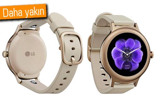 Android Wear 2.0 ve LG'nin yeni saatleri için yeni tarih