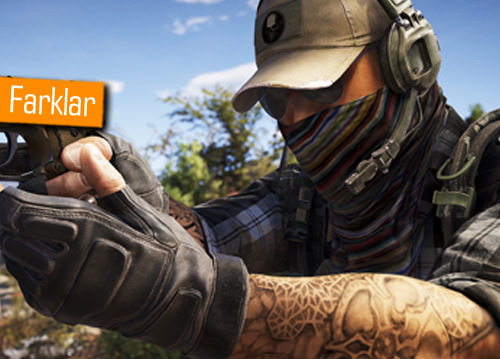 GHOST RECON WİLDLANDS E3 2015 VE PS4 2017 BETA SÜRÜMÜ GRAFİK KARŞILAŞTIRMASI
