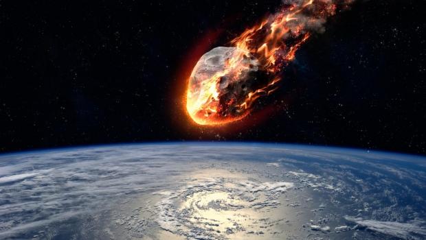 ABD'de düşen meteor böyle görüntülendi