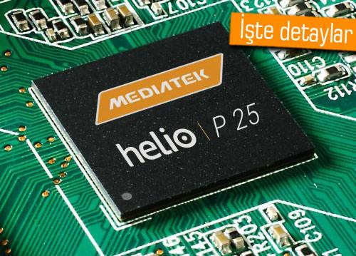 MediaTek, Helio P25'i duyurdu