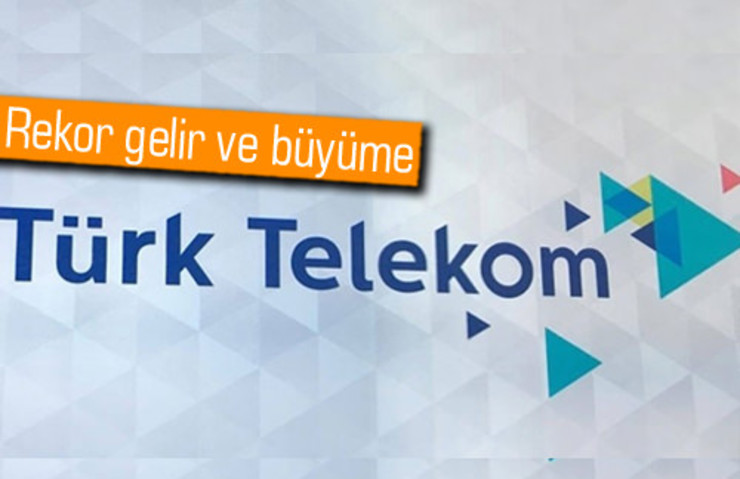 TÜRK TELEKOM'DAN 2016'DA REKOR BÜYÜME