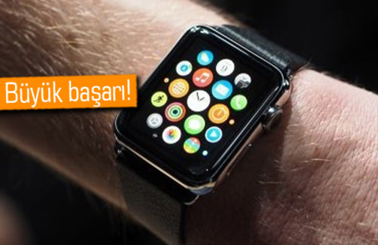 APPLE GEÇEN ÇEYREKTE 6 MİLYON APPLE WATCH SATTI