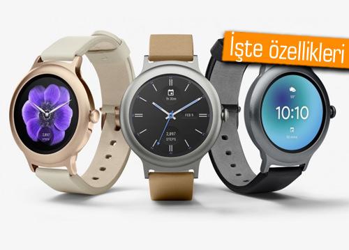 LG yeni akıllı saatleri Watch Style ve Watch Sport'u duyurdu