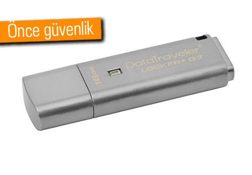 KİNGSTON DATATRAVELER LOCKER + G3 USB BELLEK
