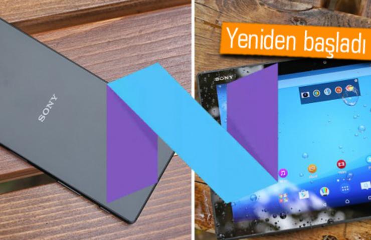 XPERİA Z5, Z3+ VE Z4 TABLET İÇİN ANDROİD 7.0 NOUGAT YENİDEN DAĞITILIYOR!