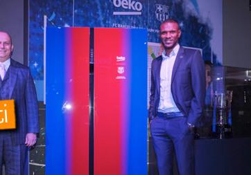 IFA 2016: Beko, Barcelona temalı buzdolabını tanıttı