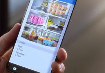 Samsung'un akıllı buzdolabı oldukça yetenekli
