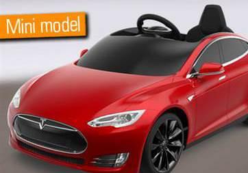 Çocuklar için Tesla Model S duyuruldu