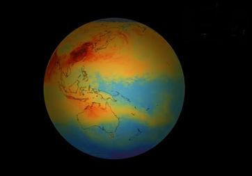 Sentinel-5P uydusu, hava kirliliğiyle ilgili ilk görüntüleri dünyaya gönderdi